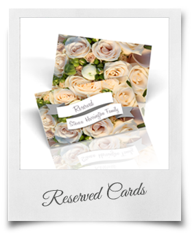Custom Reserved Cards